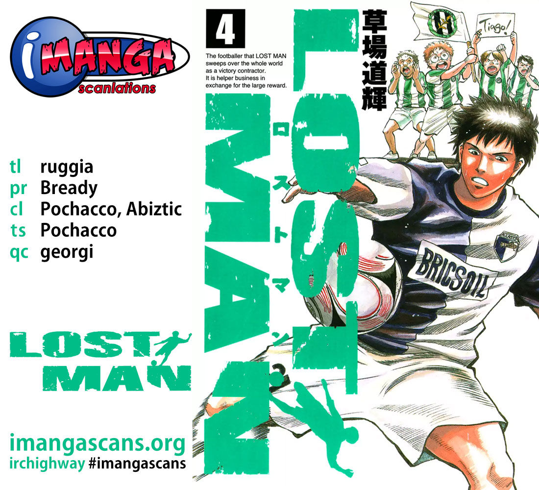 Lost Man 28 Page 1
