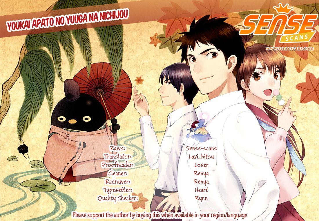 Youkai Apato no Yuuga na Nichijou 24 Page 1
