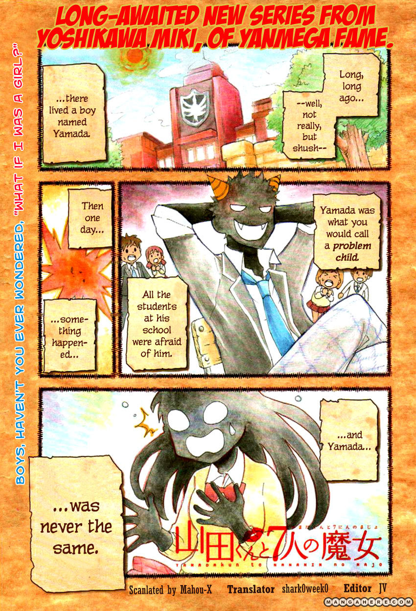 Yamada-kun to 7-nin no Majo 1 Page 1