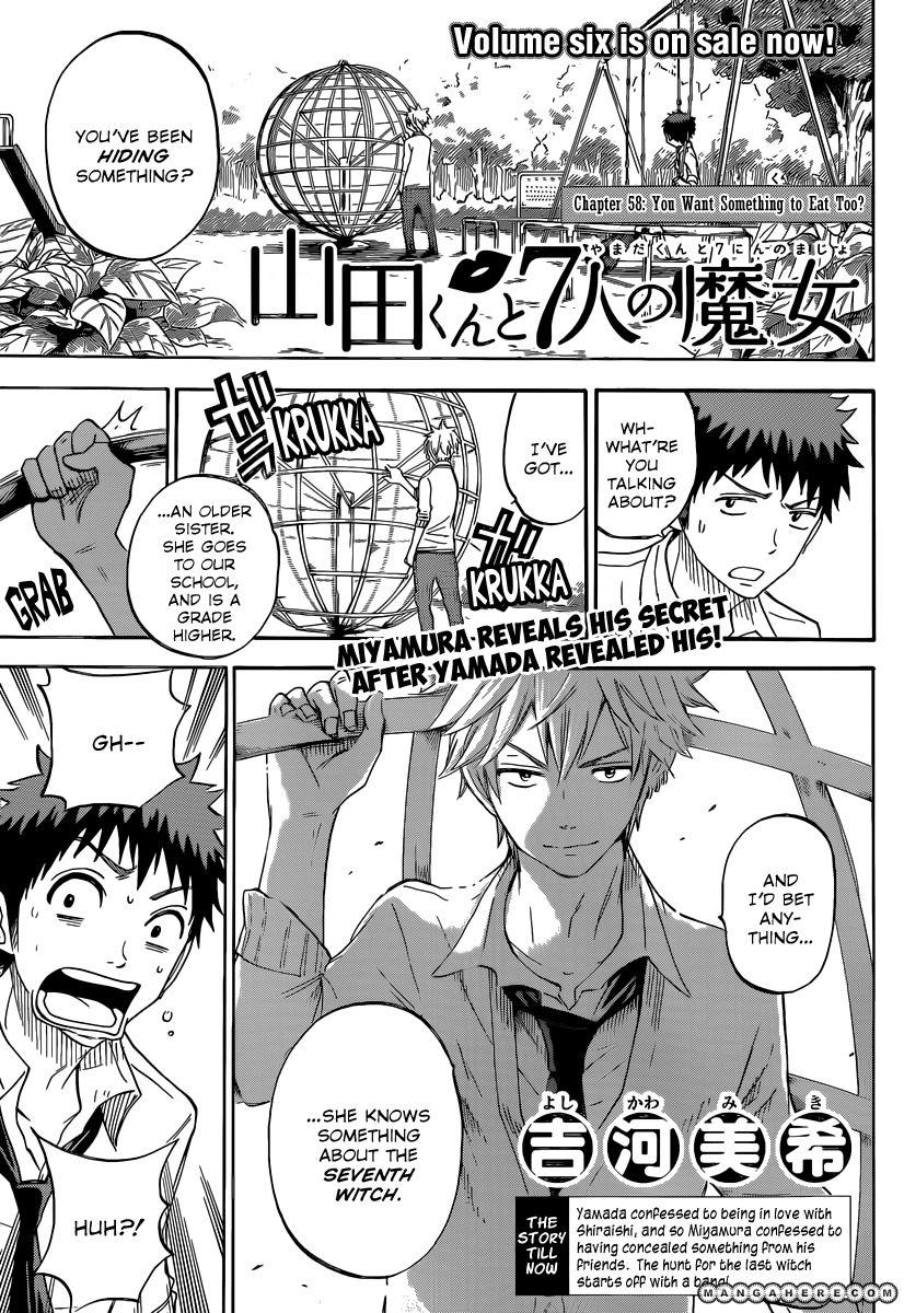 Yamada-kun to 7-nin no Majo 58 Page 1