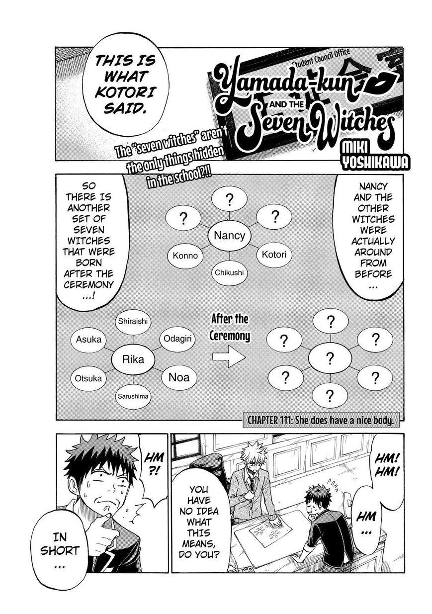 Yamada-kun to 7-nin no Majo 111 Page 1