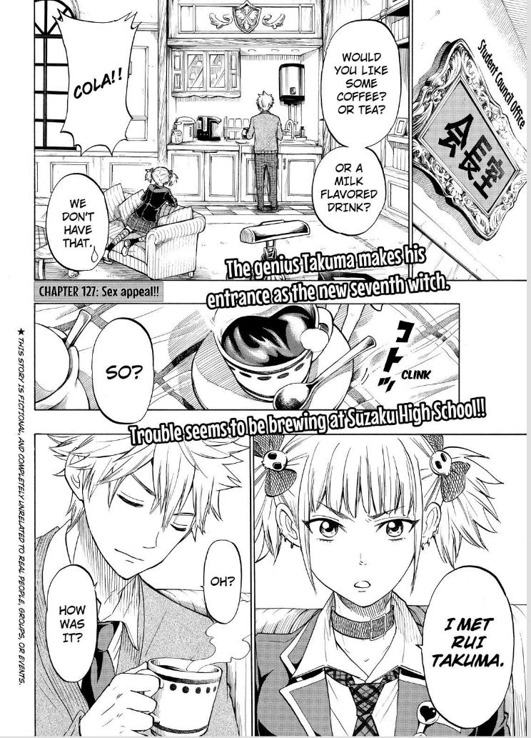 Yamada-kun to 7-nin no Majo 127 Page 2