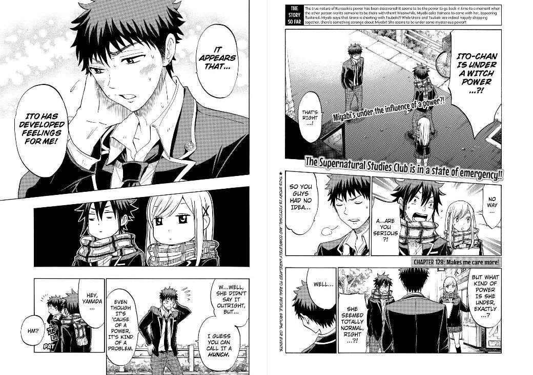 Yamada-kun to 7-nin no Majo 128 Page 2