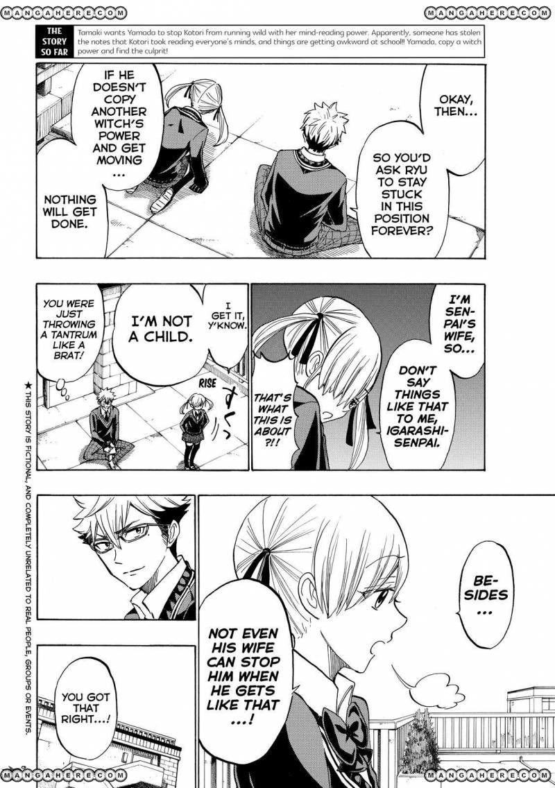 Yamada-kun to 7-nin no Majo 176 Page 2