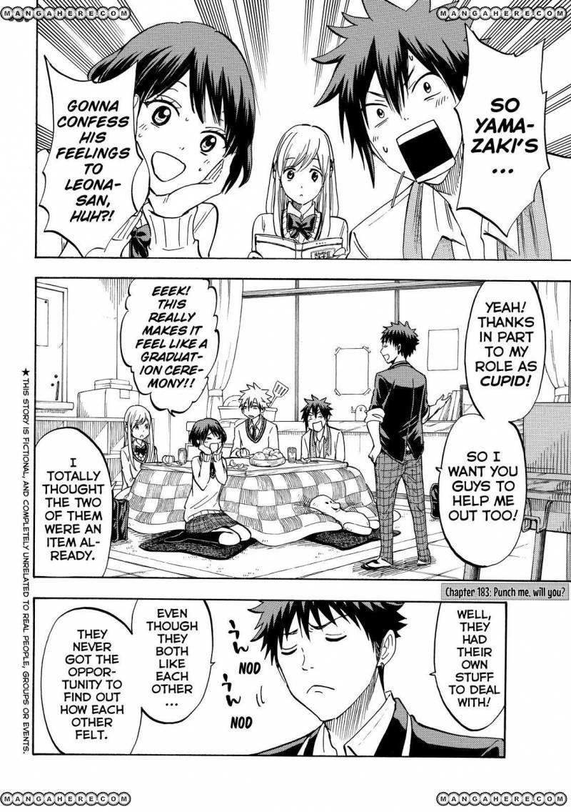 Yamada-kun to 7-nin no Majo 183 Page 2