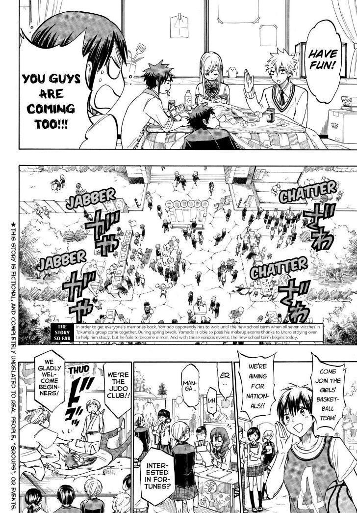 Yamada-kun to 7-nin no Majo 187 Page 2