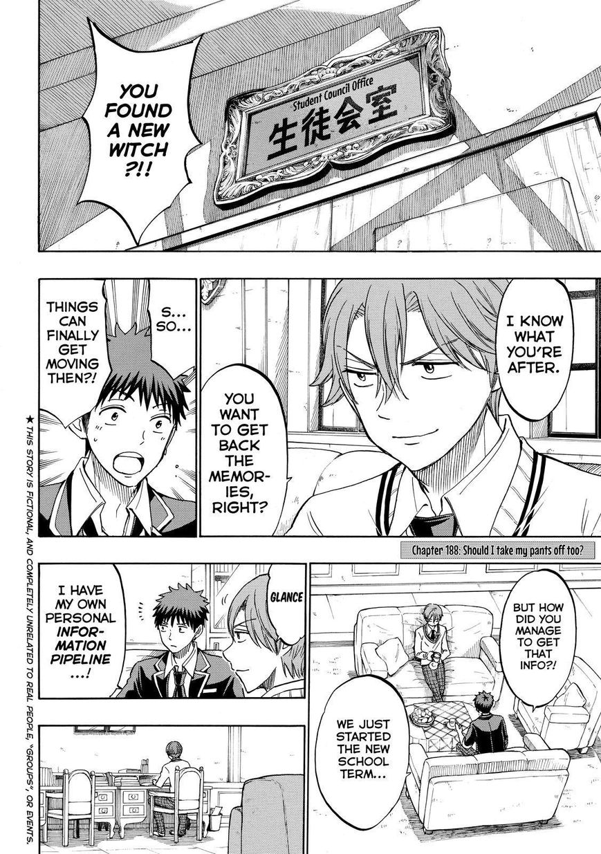 Yamada-kun to 7-nin no Majo 188 Page 2