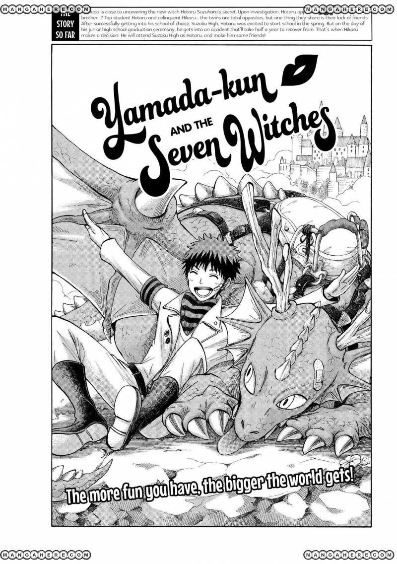 Yamada-kun to 7-nin no Majo 191 Page 1