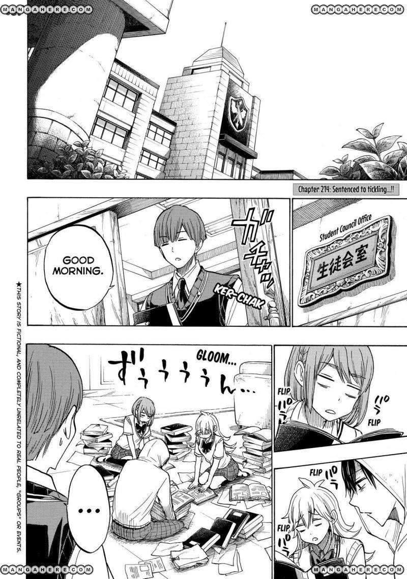 Yamada-kun to 7-nin no Majo 214 Page 2