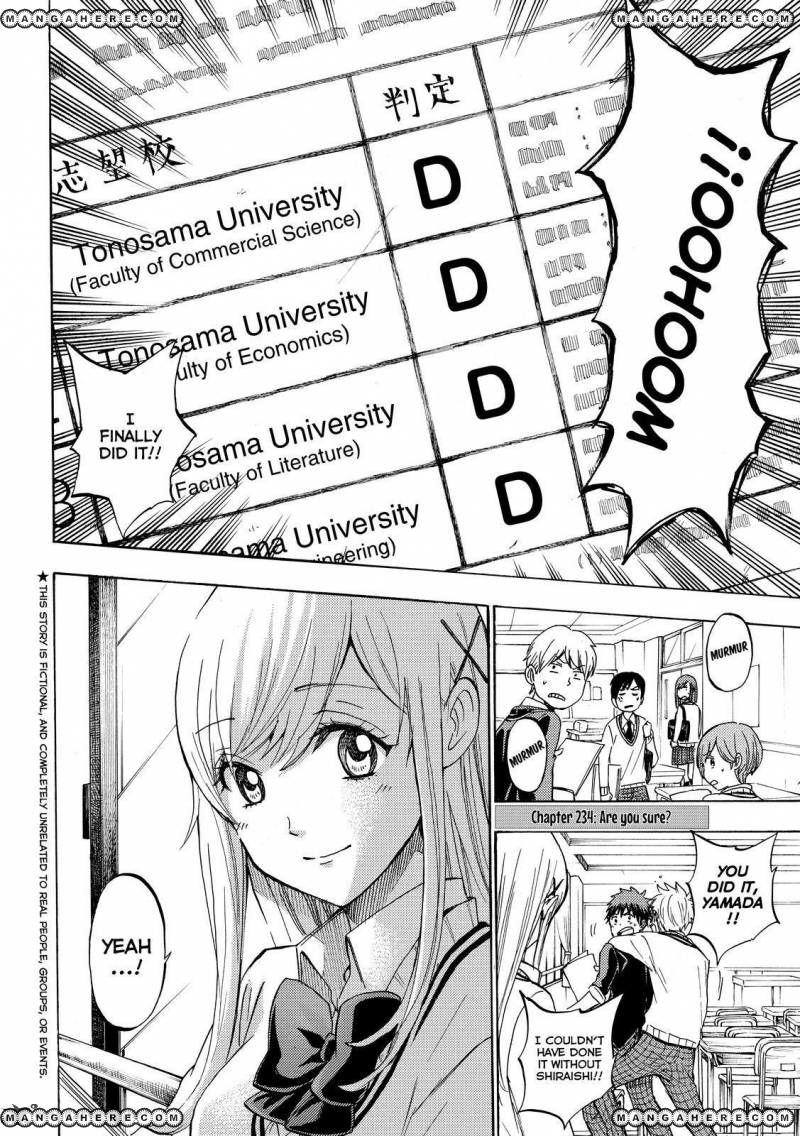 Yamada-kun to 7-nin no Majo 234 Page 2