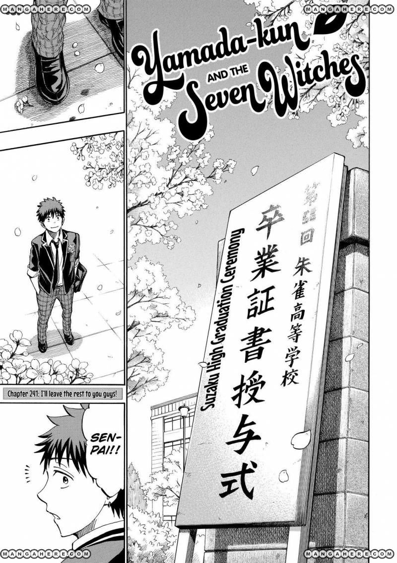 Yamada-kun to 7-nin no Majo 241 Page 1