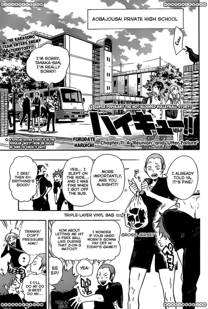 Haikyu!! 11 Page 1