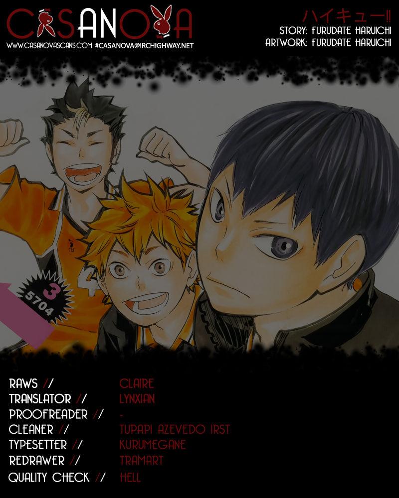Haikyu!! 63 Page 1