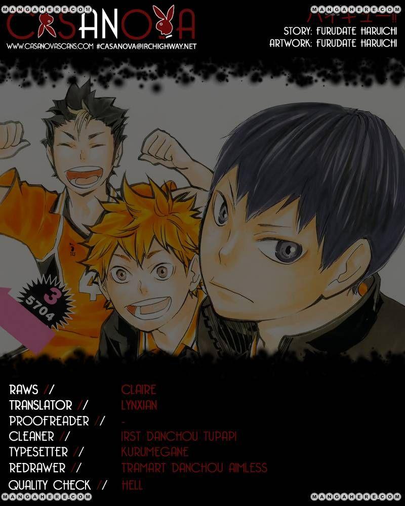Haikyu!! 68 Page 1