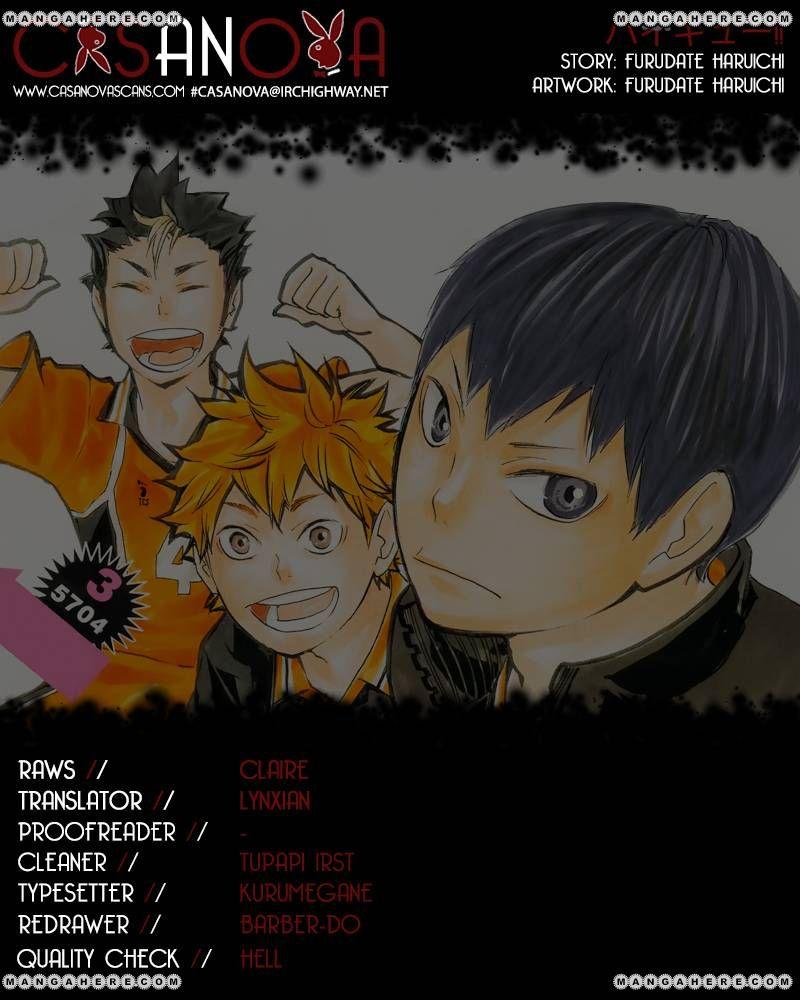 Haikyu!! 76 Page 1