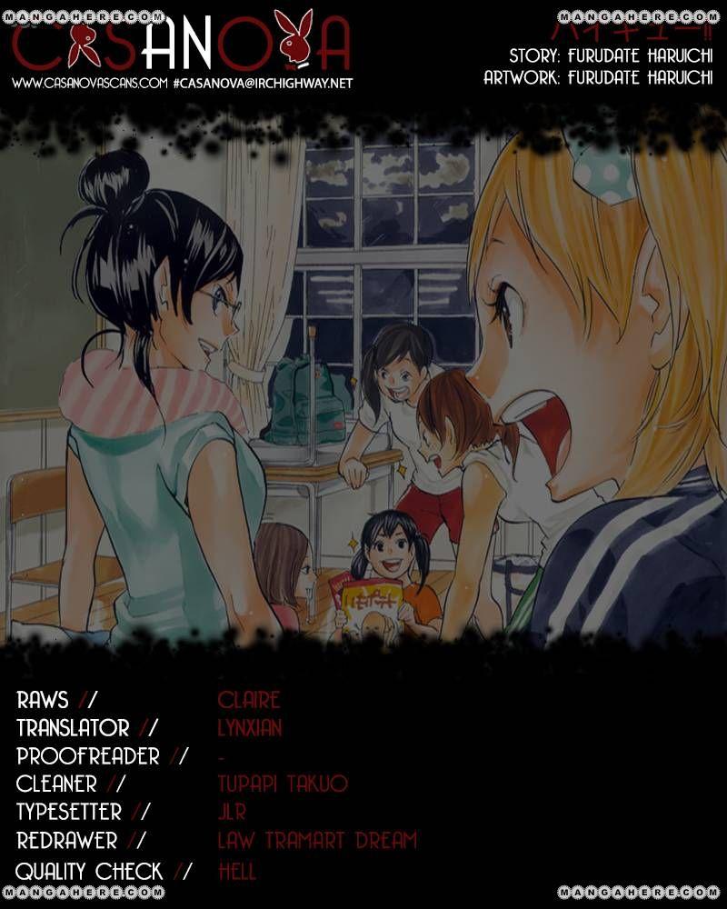 Haikyu!! 109 Page 1
