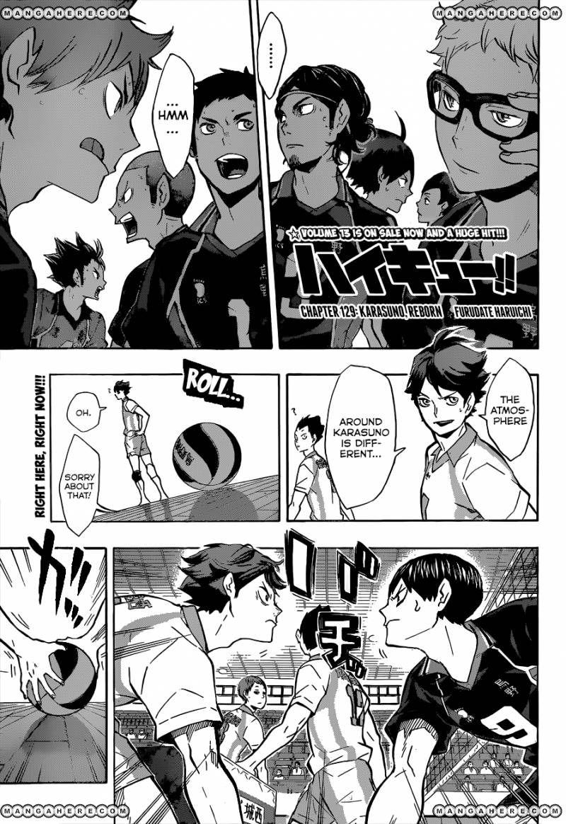 Haikyu!! 129 Page 2