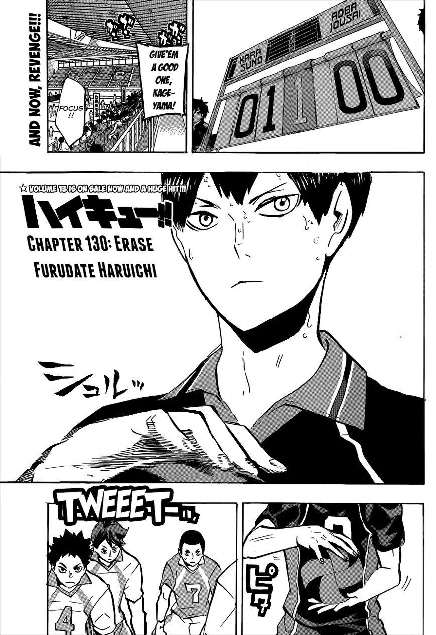 Haikyu!! 130 Page 2
