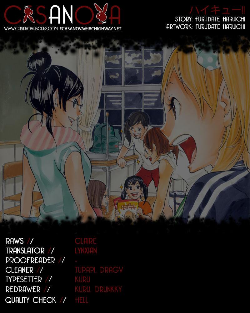 Haikyu!! 152 Page 1