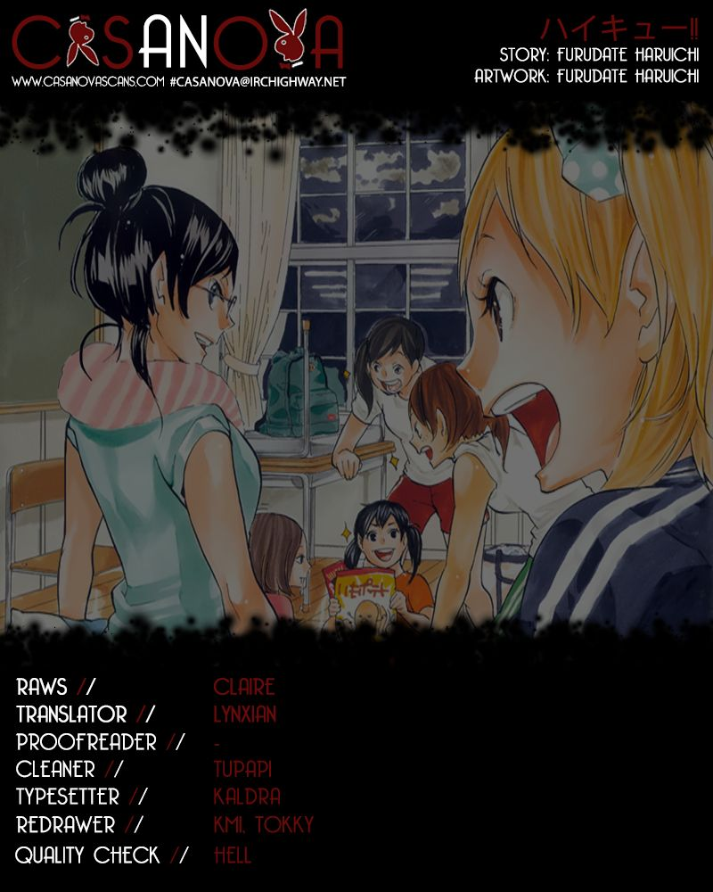 Haikyu!! 167 Page 1