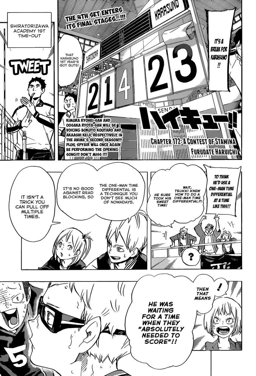 Haikyu!! 172 Page 2