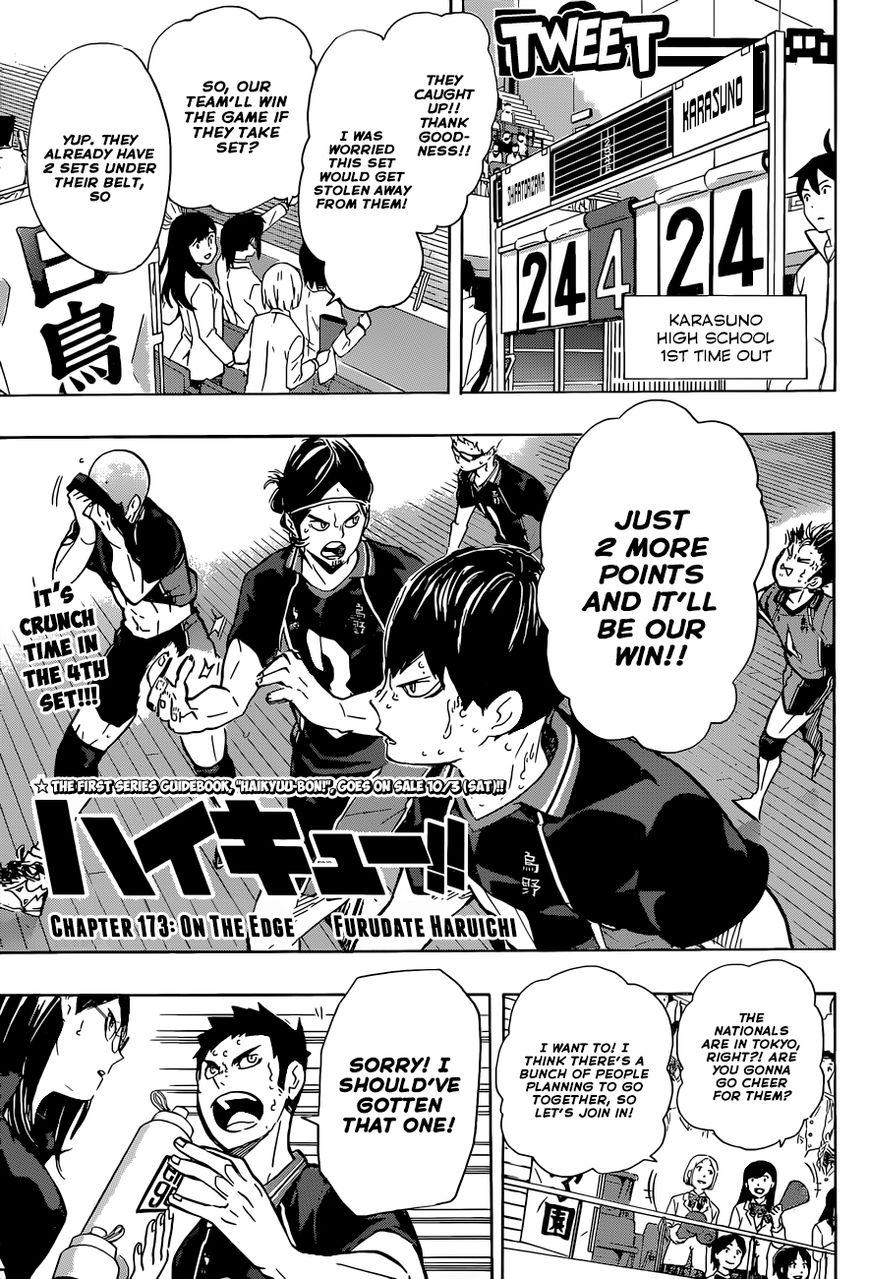 Haikyu!! 173 Page 2
