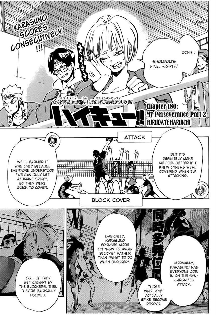 Haikyu!! 180 Page 1