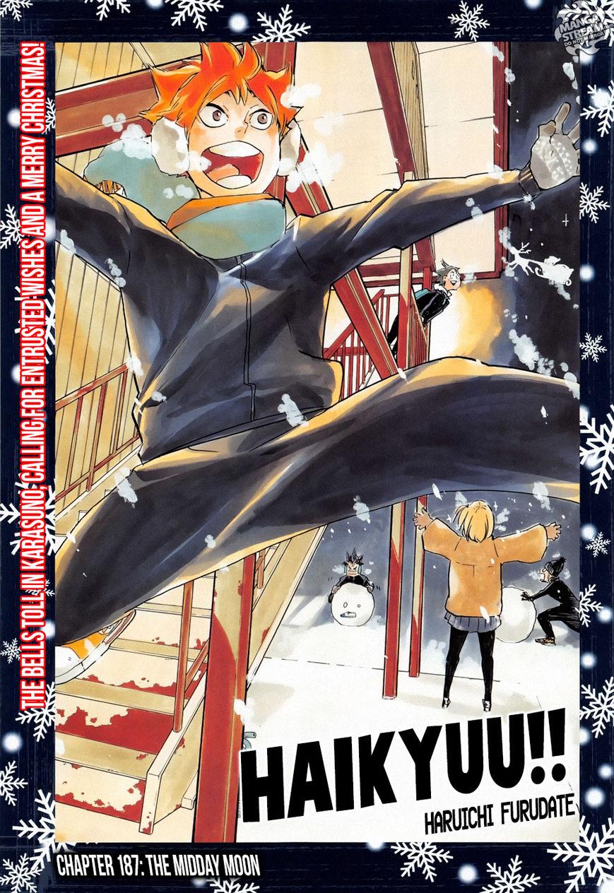Haikyu!! 187 Page 1