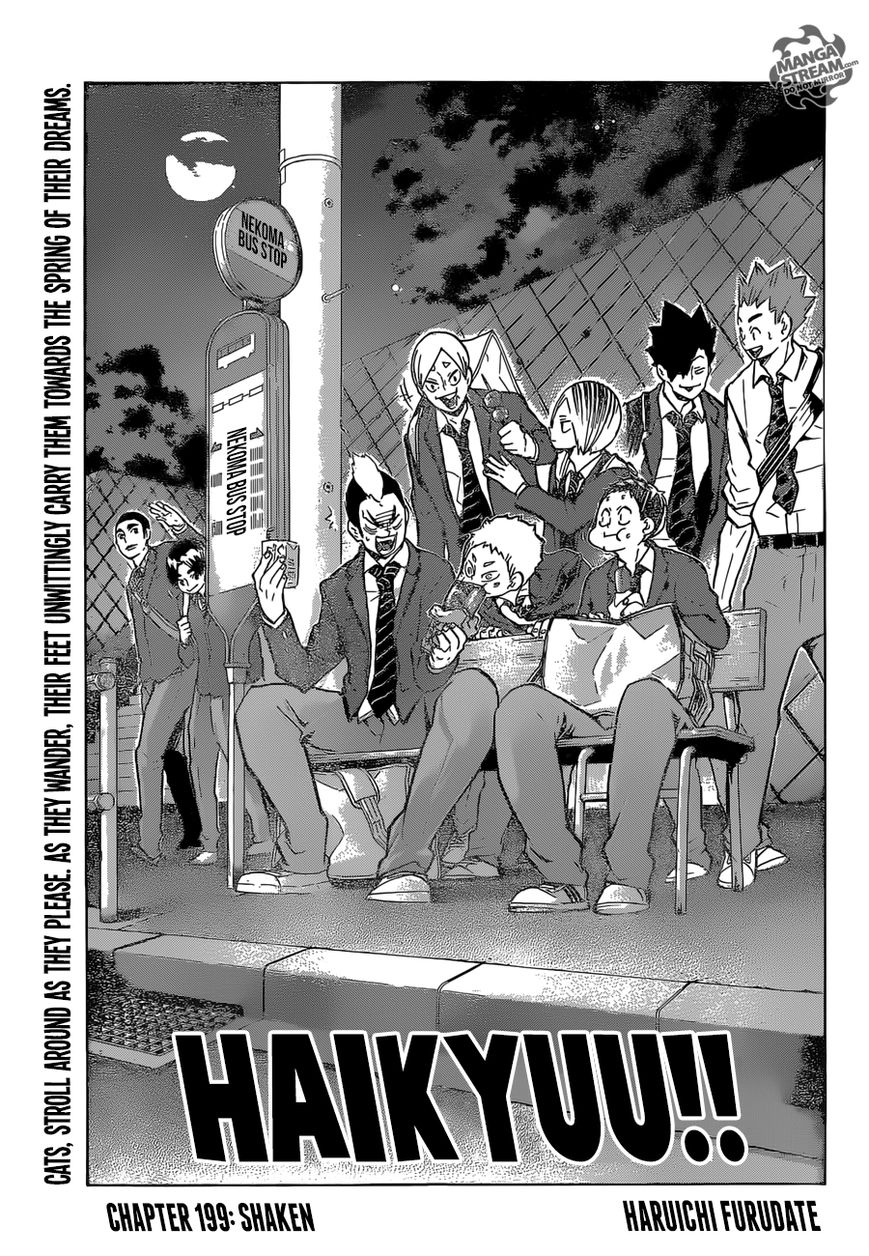 Haikyu!! 199 Page 1