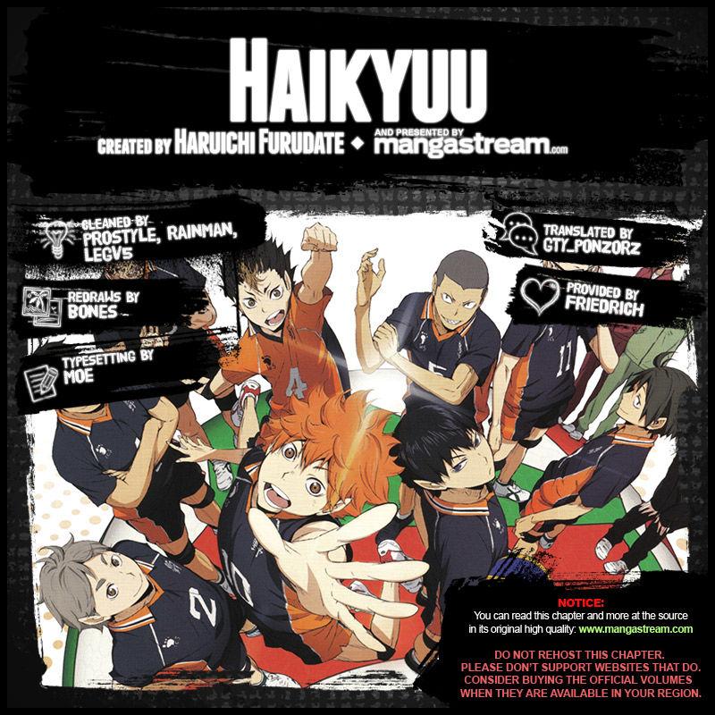 Haikyu!! 218 Page 1