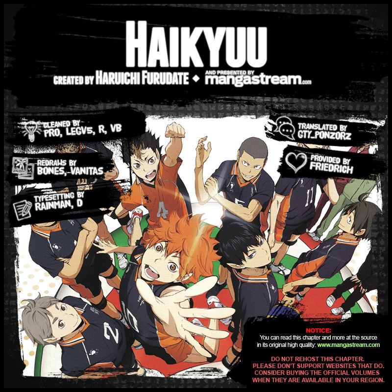 Haikyu!! 222 Page 1