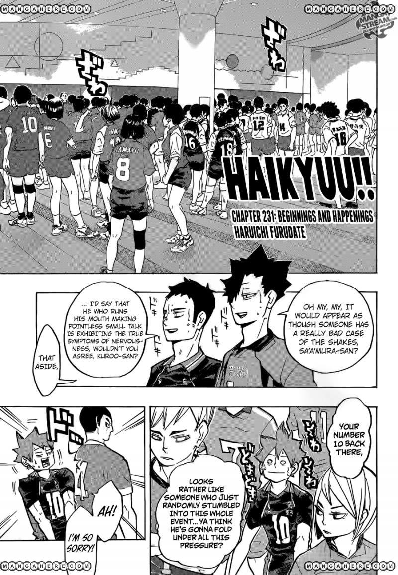 Haikyu!! 231 Page 2