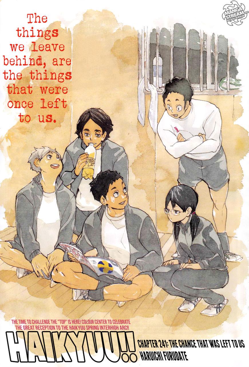 Haikyu!! 241 Page 1
