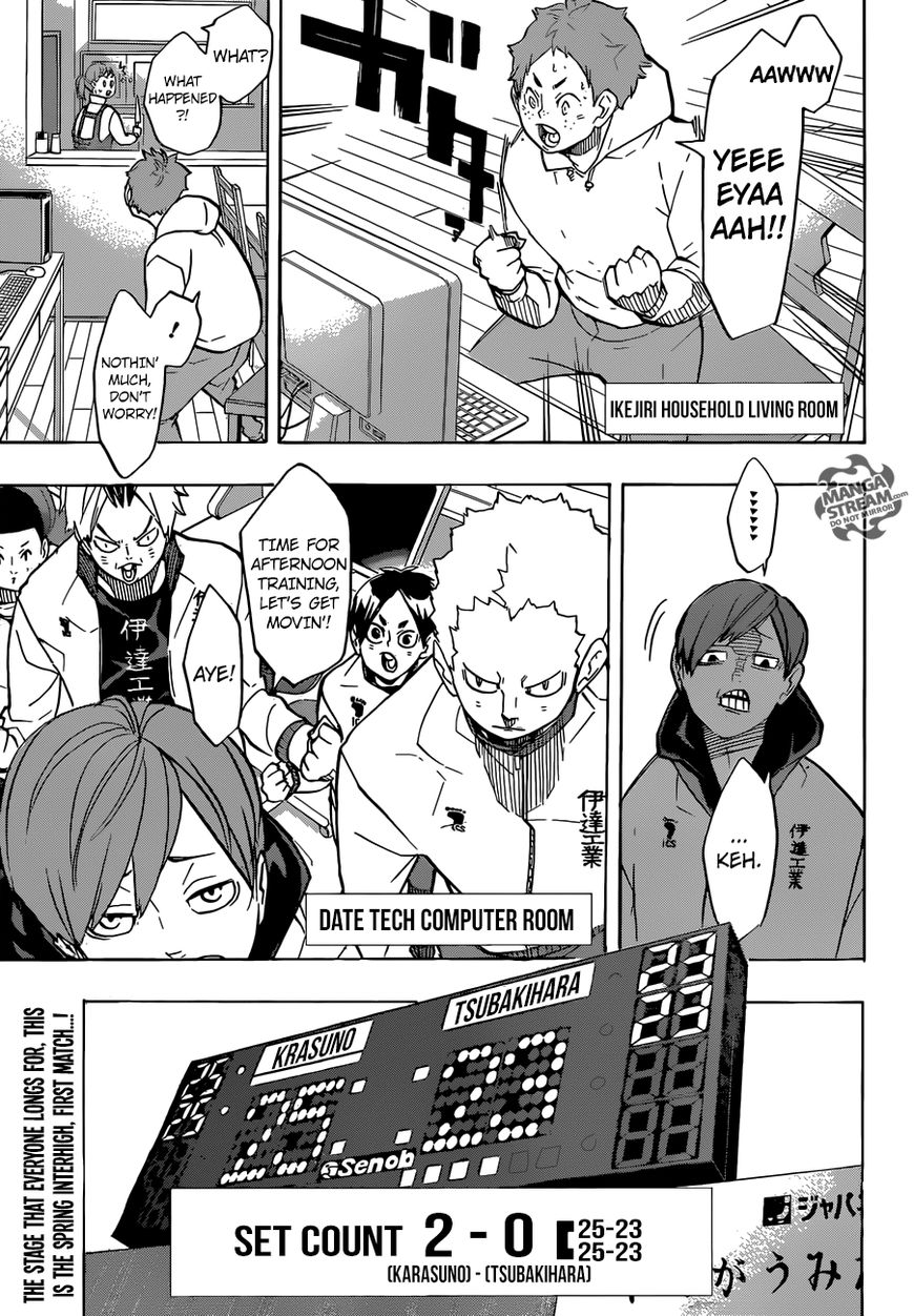 Haikyu!! 243 Page 1