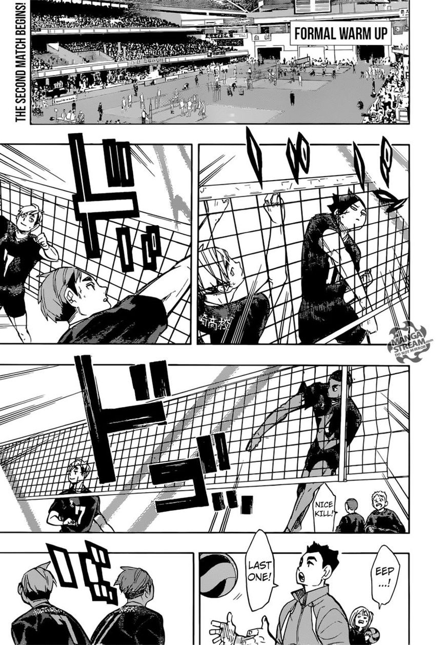 Haikyu!! 249 Page 1
