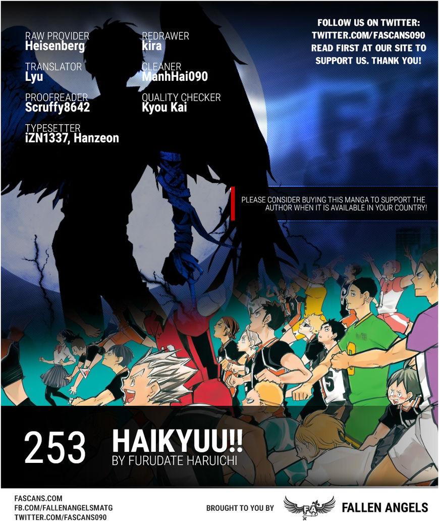 Haikyu!! 253 Page 1