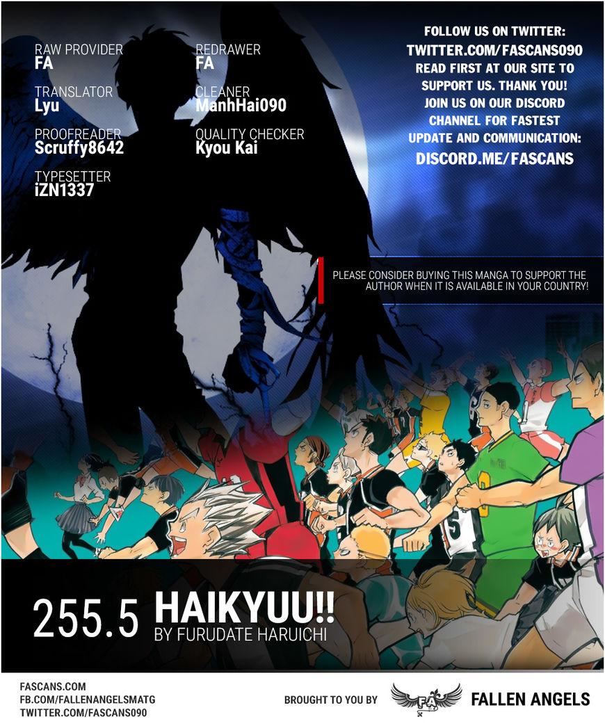 Haikyu!! 255.5 Page 1