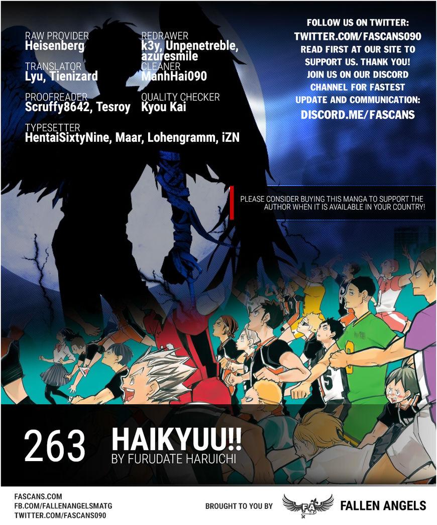 Haikyu!! 263 Page 1