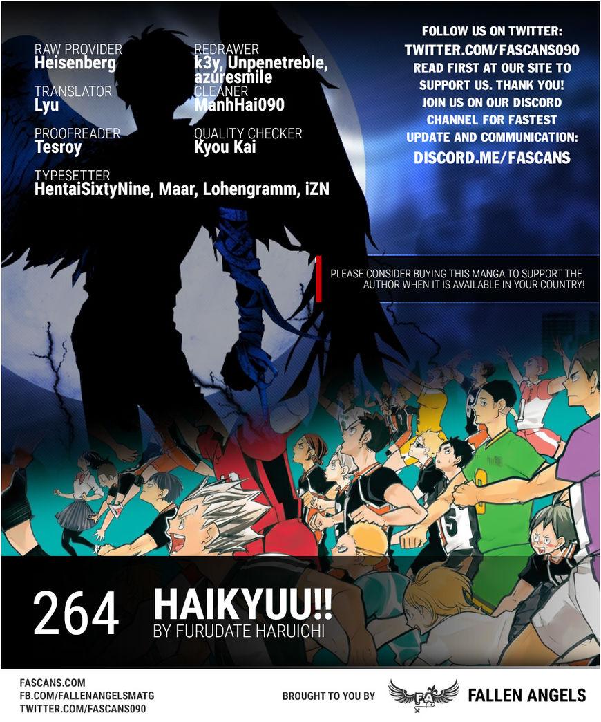 Haikyu!! 264 Page 1