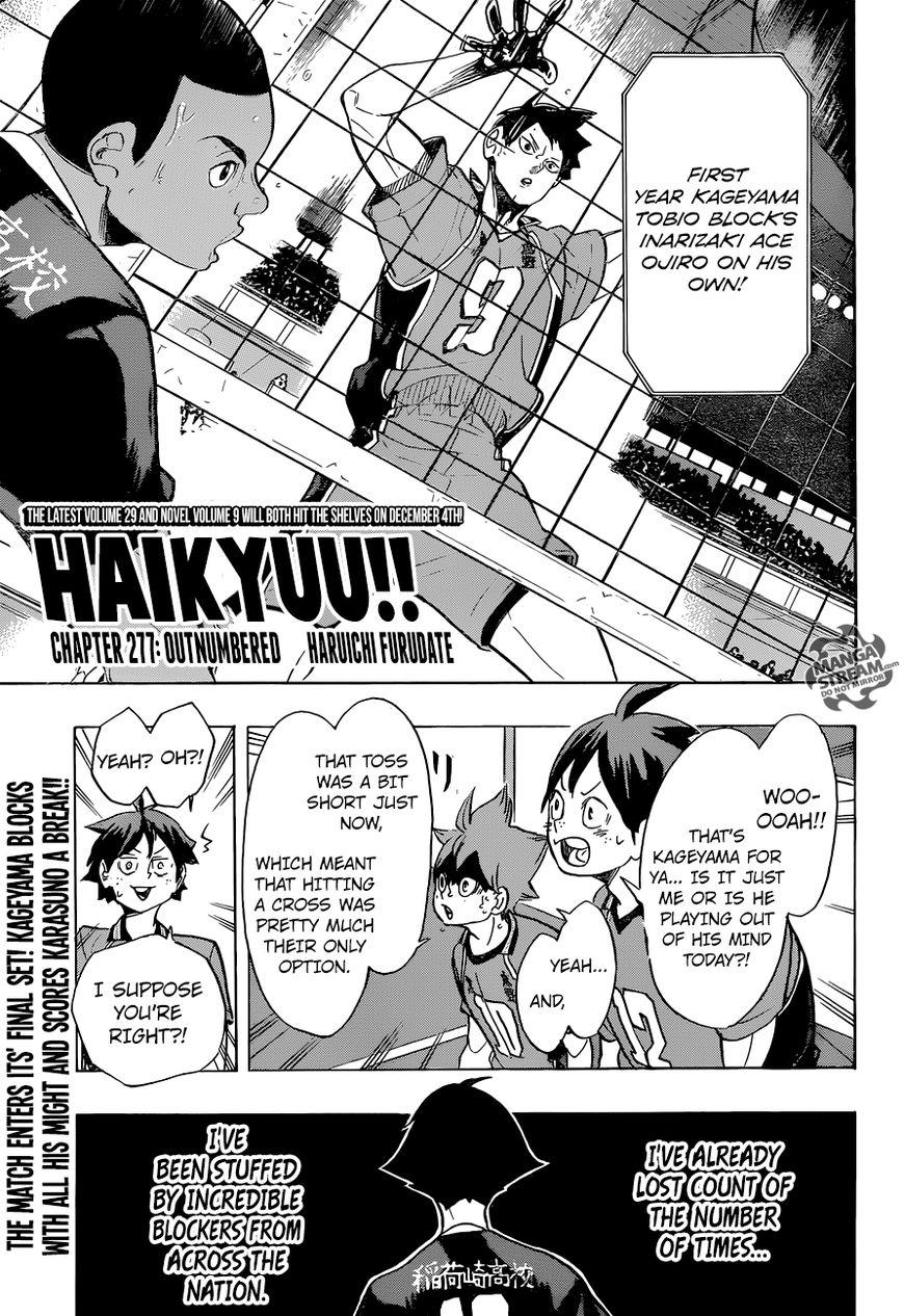 Haikyu!! 277 Page 1