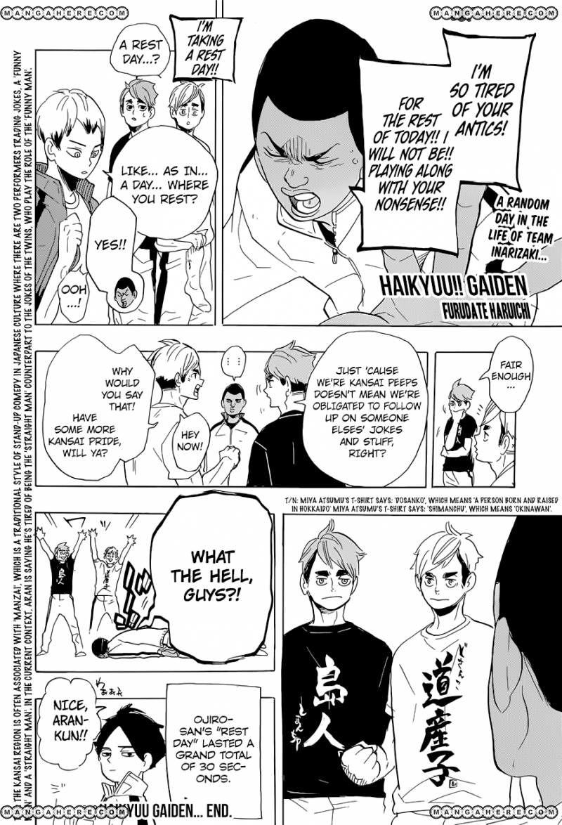 Haikyu!! 282 Page 1