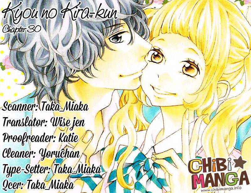 Kyou no Kira-kun 30 Page 1