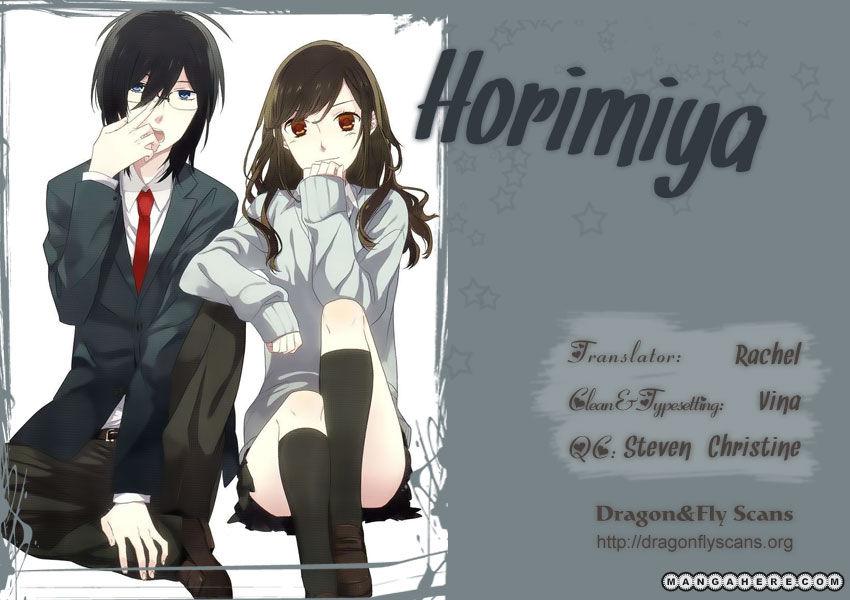 Horimiya 13 Page 1