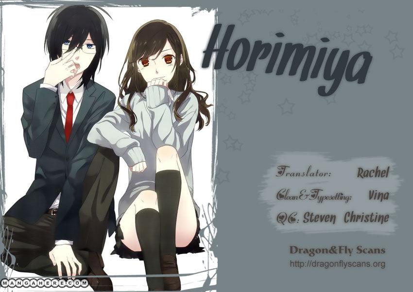 Horimiya 15 Page 1