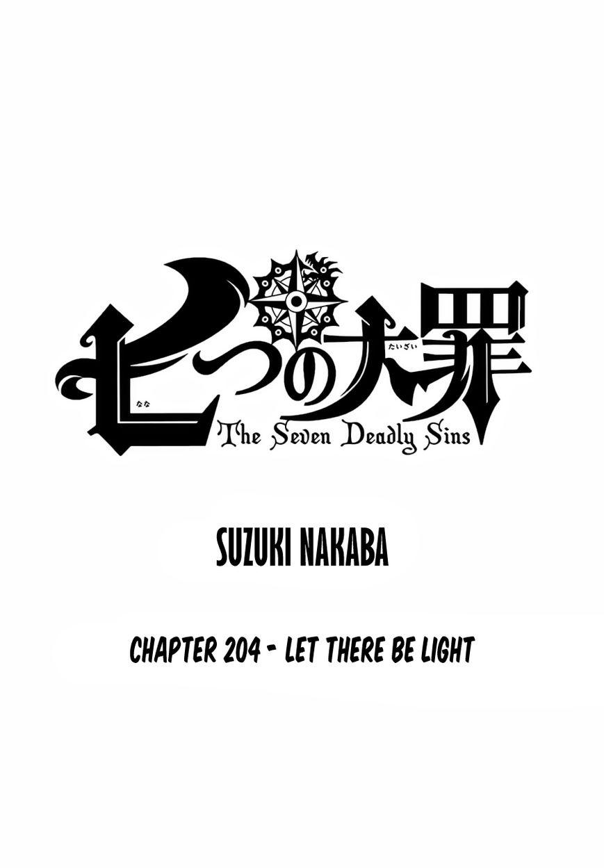 Nanatsu no Taizai 204 Page 1