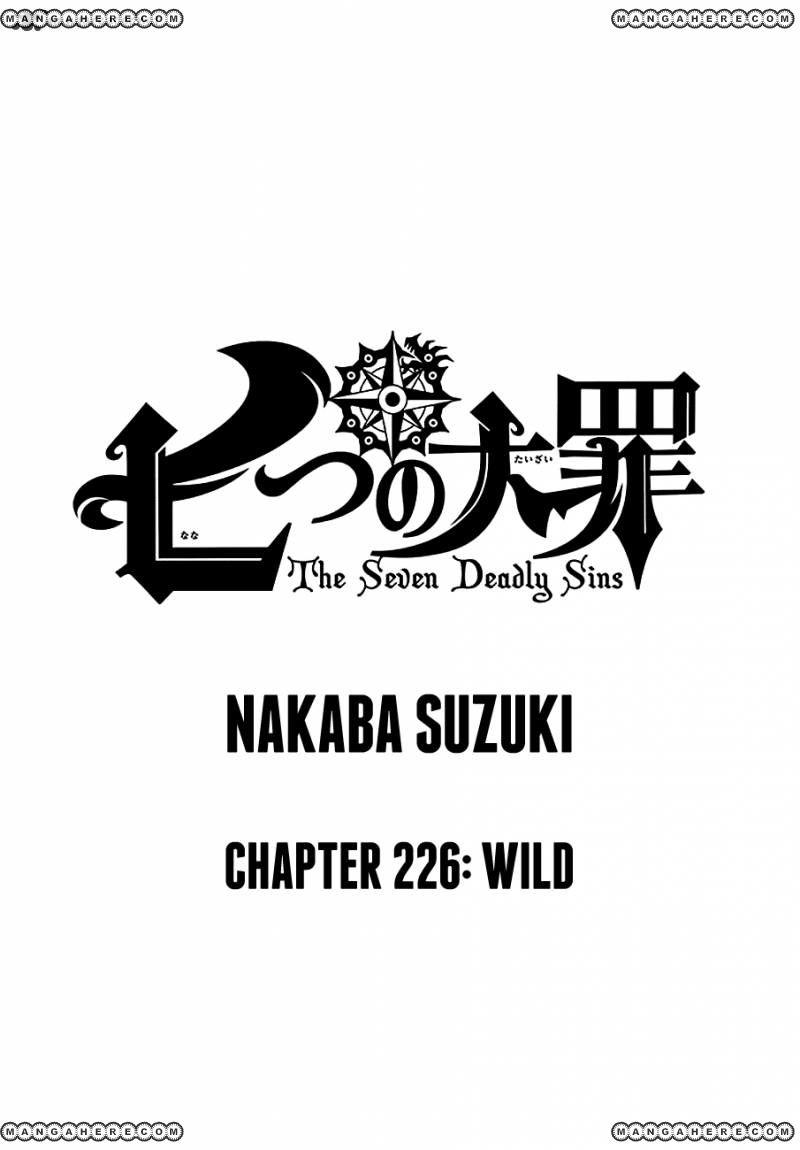 Nanatsu no Taizai 226 Page 1