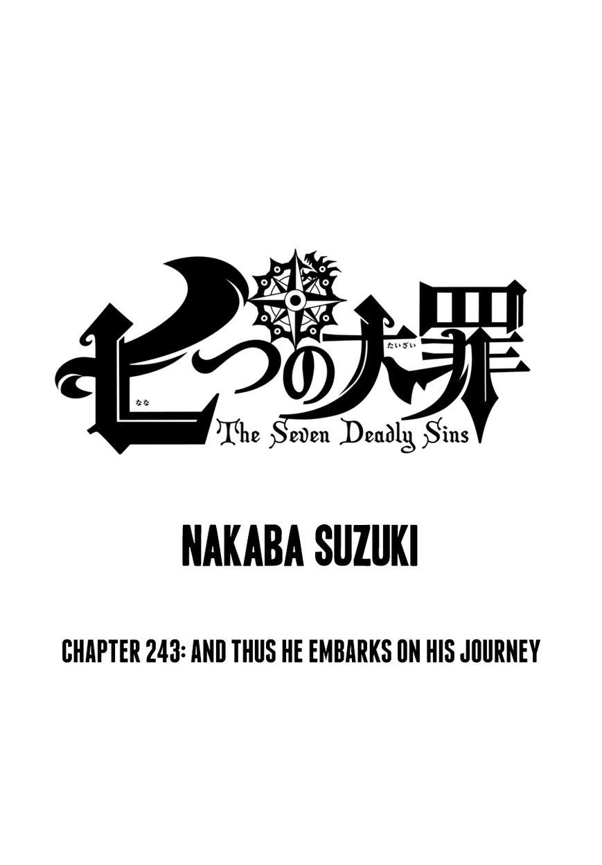 Nanatsu no Taizai 243 Page 1