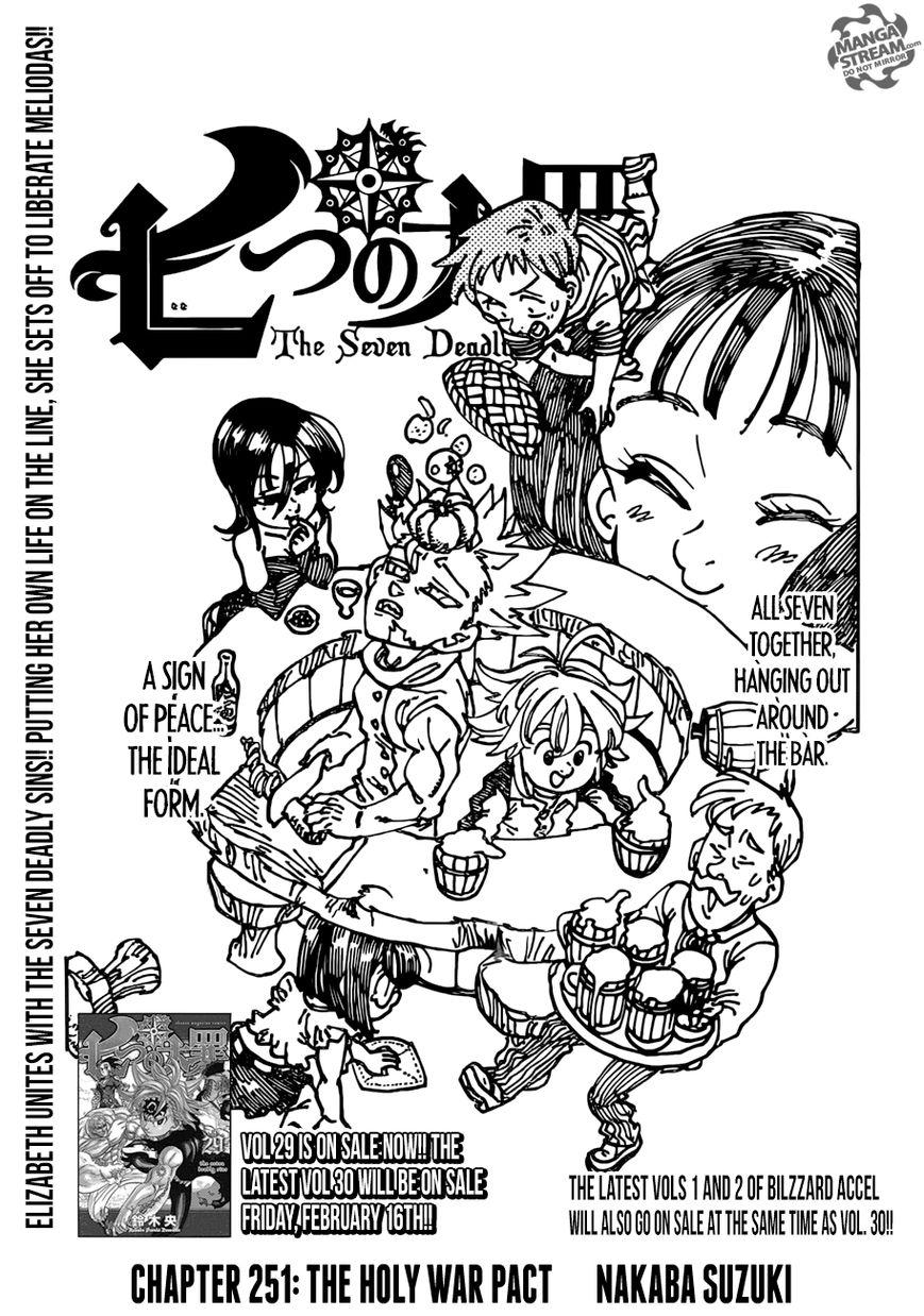 Nanatsu no Taizai 251 Page 1