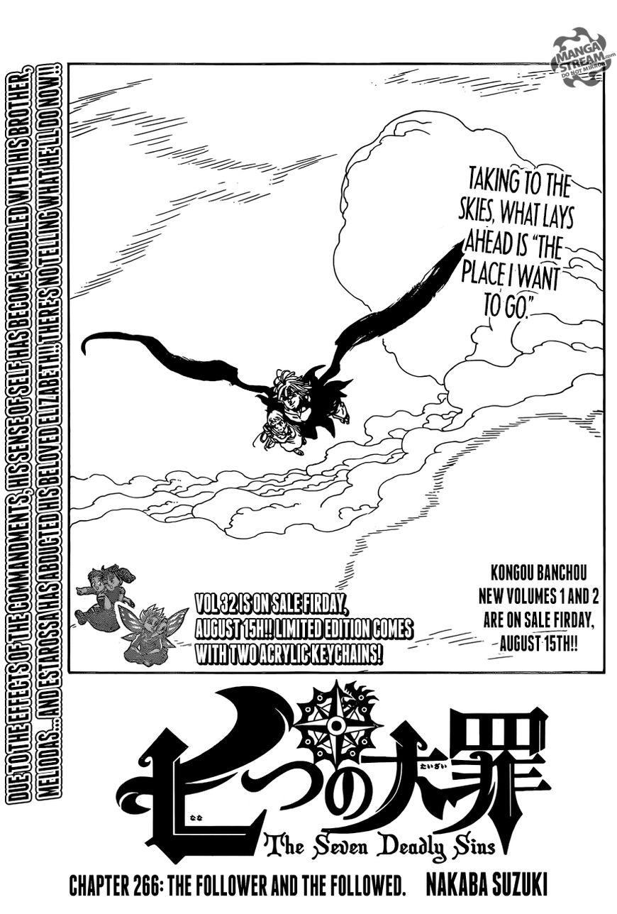 Nanatsu no Taizai 266 Page 1