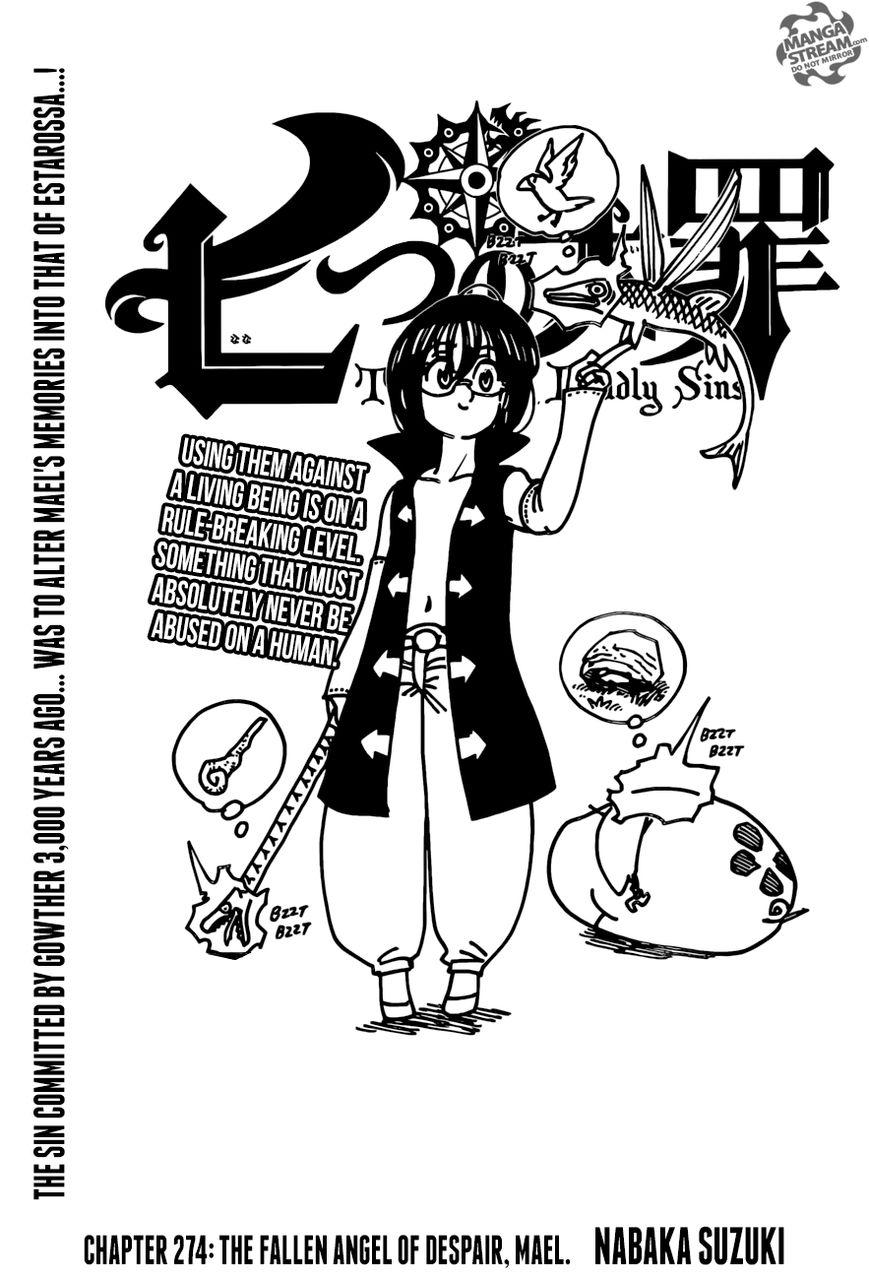 Nanatsu no Taizai 274 Page 1